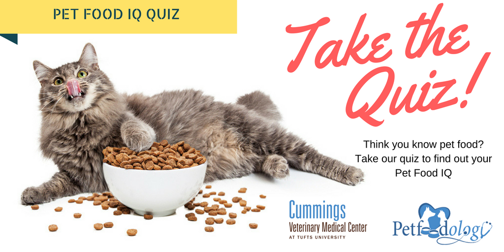 Take the Pet Food IQ Quiz